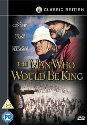 THE MAN WHO WOULD BE KING - Sean Connery - DVD **NEW SEALED** FREE POST**