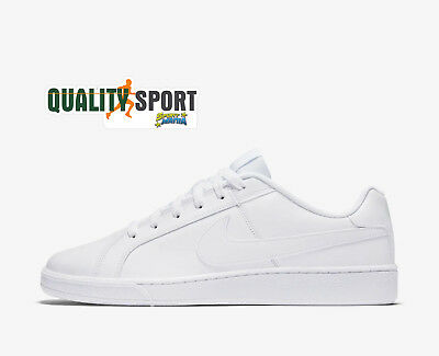 lowest price 80c37 d67d4 Nike Court Royale Bianco Scarpe Shoes Uomo Sportive Sneakers 749747 111