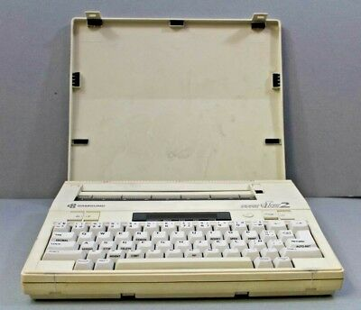 Vintage Samsung Personal Typewriter Type Ice 2 Model No: ET-45S Collectables