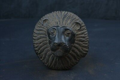 "VERY RARE Ancient Egyptian Sekhmet Head Statue 5"" / Reproduction"