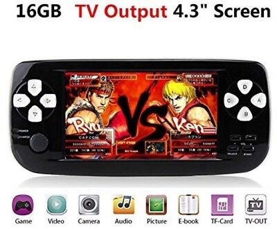 Handheld Game Console , Retro with 4.3 3000 Games, Portable PAP-KIII , Support