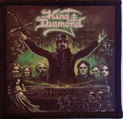 King Diamond - Abigail 1 -  printed patch - FREE SHIPPING