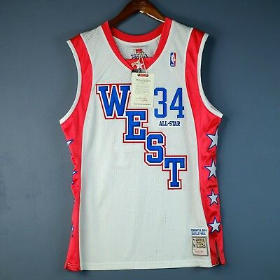 100% Authentisch Shaquille O'Neal Mitchell & Ness 04 All Star Trikot Size 44 L