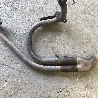 Honda Transalp Exhaust  Front Part