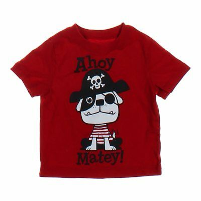 Circo Baby Boys  T-shirt, size 12 mo,  maroon, red,  cotton