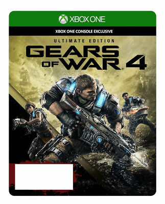 Gears of War 4 Ultimate Edition (Microsoft Xbox One, 2016) Digital Download Code