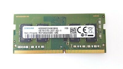 Samsung 8GB 260-Pin DDR4 SO-DIMM DDR4 2400 M471a1g43db1-crc PC4 19200