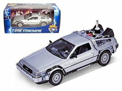 Welly 1:24 Delorean Time Machine Back to the Future Part 2 Diecast Model Car NIB