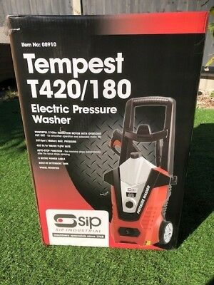 New Tempest T420/180 Electric Pressure Washer SIP 08910