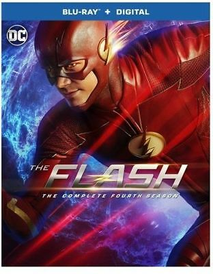 The Flash: The Complete Fourth Season (Blu-ray Disc, 2018)
