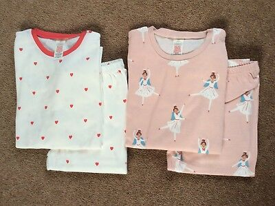 99a8dd8fc NEW MINI BODEN Twin Pack Cosy Long Johns Pyjamas - Pink Angel Red ...