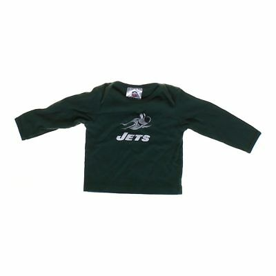 NFL Team Apparel Baby Boys Jets Shirt, size 12 mo,  green, white, grey,  cotton