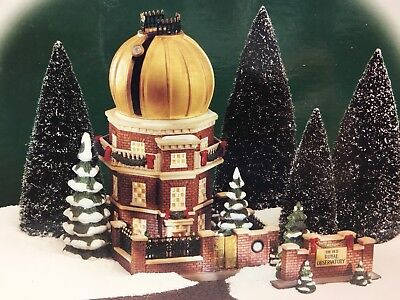 Department 56 Old Royal Observatory Gold Dome RARE Dickens Village
