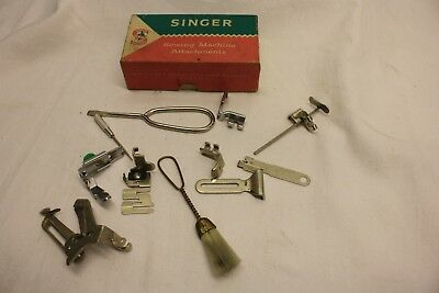 JOB LOT X 11 Singer Simanco ATTACHMENT FOOT REPLACEMENT SEWING MACHINE 121632