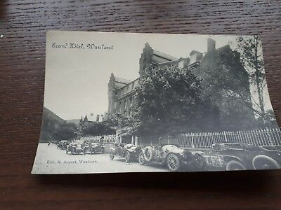 Ancienne Carte Postale Waulsort Grand Hotel
