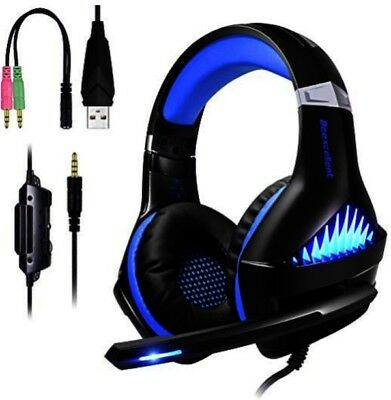 Cuffie Gaming PS4 PC Xbox One Switch 3.5mm Audio Surround per,PS4,PC,Mac,iPad