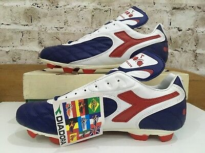 8eed4859 VINTAGE 1990S LOTTO In Area football Boots Uk 9 US 10 Eu 43 Rare OG ...
