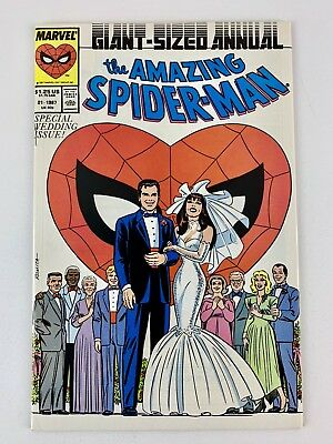 Amazing Spider-Man Annual #21 - Wedding Issue! Peter Parker Variant - Classic!