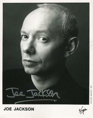 Joe Jackson (Band Singer) Signed 8 x 10 Photo Genuine In Person + COA