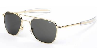 78578d0b76 AO Original Pilot 52mm Gold Color Correct Gray Polarized Lenses