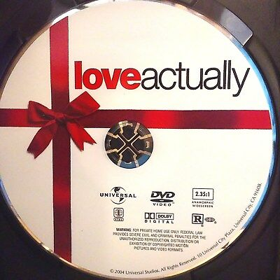 Love Actually (DVD, 2004, Widescreen Edition) Disc Only! No case.