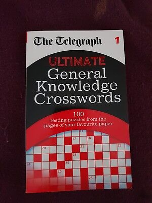The Telegraph: Ultimate General Knowledge Crosswords 1 by The Daily Telegraph (…