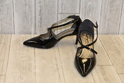 9956e8225 Walking Cradles Stella Patent Leather d'Orsay Pumps, Women's Size 9W, Black  NEW