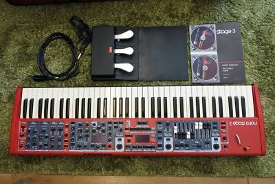 Nord Stage 3 Compact with 3 Pedals and Soft Case