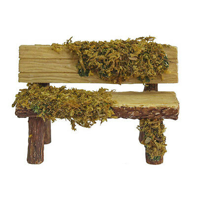 Cool Miniature Dollhouse Fairy Garden Mossy Garden Bench Ibusinesslaw Wood Chair Design Ideas Ibusinesslaworg