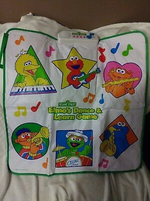 Sesame Street Elmo's Dance and Learn Game VINTAGE 2011