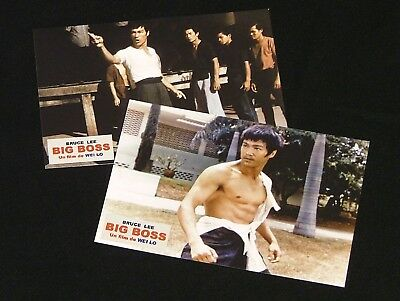 Big Boss French Kodak photo prints (2)  – Bruce Lee Todesfaust des Cheng Li