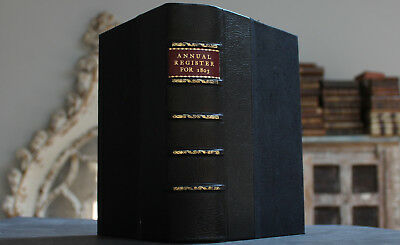 Antique Rare Old Book History, Politics & Literature Of 1803 Scarce Reference