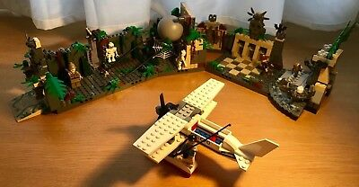 Lego Indiana Jones  7623 Temple Escape 100 % Complete with Instructions no Box.