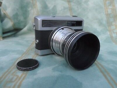 VINTAGE CARL ZEISS JENA WERRA 35mm CAMERA WITH LEATHER CASE