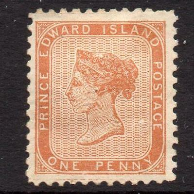 Prince Edward Island Canada 1862  Brown Orange Perf 11 LHM  SG6 Cat. £120