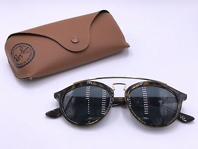 55c1d5f8774 Ray Ban RB4257 710 71 GATSBY II LARGE Gloss Tortoise Classic Green G15  AUTHENTIC
