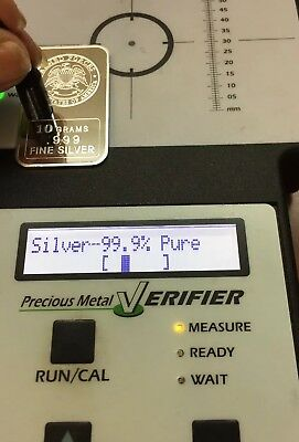 10 Grams .999 REAL Fine Silver Bar Art Bullion Armed Forces USA
