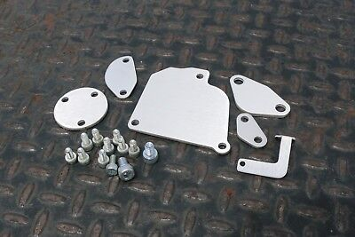 LRB Speed 12A RX7 Aluminum Block Off Plates SA FB 1st Gen RX-7 with Hardware