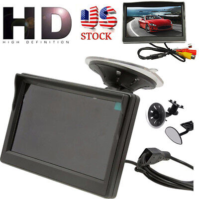 5-inch 800*480 TFT LCD HD Screen Monitor Car Reverse Rearview Backup Camera KO
