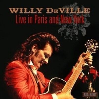 Willy Deville - Live In Paris And New York  Cd Neuf