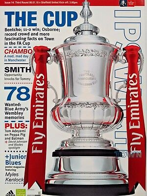 Ipswich Town v Sheffield United 6/1/2018 FA Cup 3rd Round MINT CONDITION