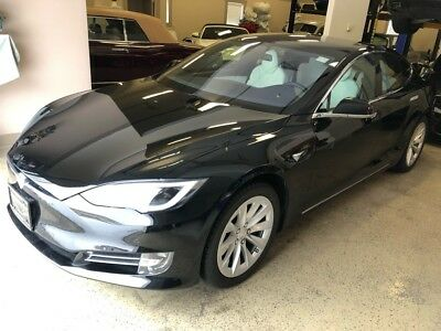 2017 MODEL S 100D 100D Enhanced Auto Pilot 2017 TESLA MODEL S 100D 100D Enhanced Auto Pilot 31,827 Miles BLACK  100D Automa