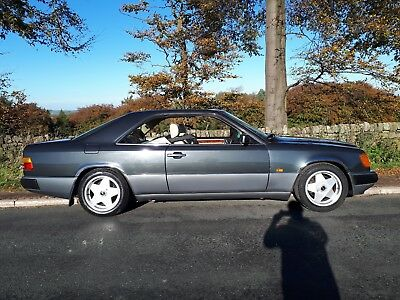 C124 Mercedes 230CE 1992 Gunmetal  Pillar less Coupe in Beautiful Condition