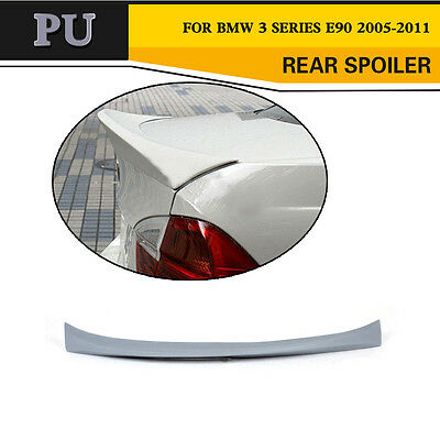 C Type Car Auto Rear Spoiler Boot Lip Wing Fit for BMW 3 Series E90 M3 Unpainted
