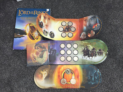 New Zealand - 2003- Lord of The Rings Coin Set Series!!! Rare