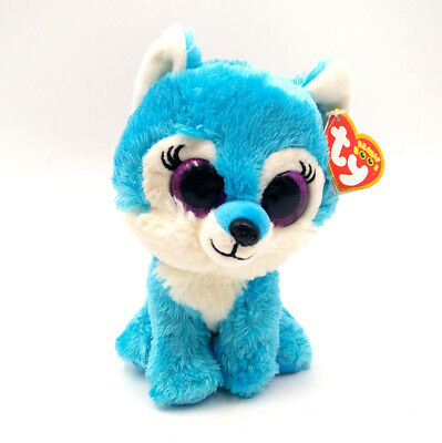 """Ty Beanie Boo JADE the Wolf-Great Wolf Lodge Exclusive 6/"""" MWMT"""