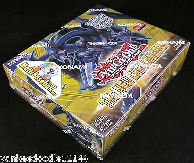 YU-GI-OH THE NEW CHALLENGERS 1st Edition U.S English SEALED BOOSTER BOX YUGIOH
