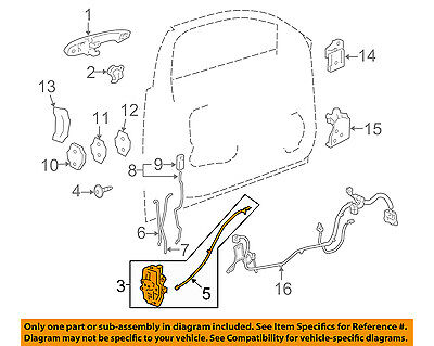 GENUINE GM LOCK Assembly 22862248 - $119 90 | PicClick