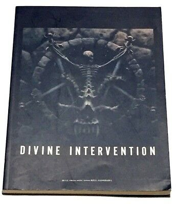Slayer Divine Intervention Japan Band Score Book Guitar Tab