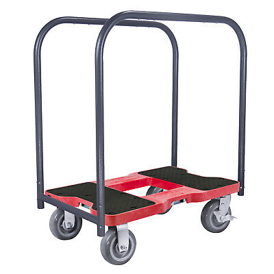 1800 Lb Super-Duty Professional E-Track Panel Cart Dolly Red